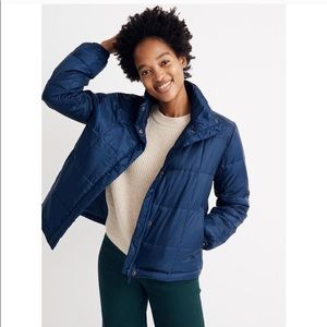 Madewell travel buddy packable puffer jacket M